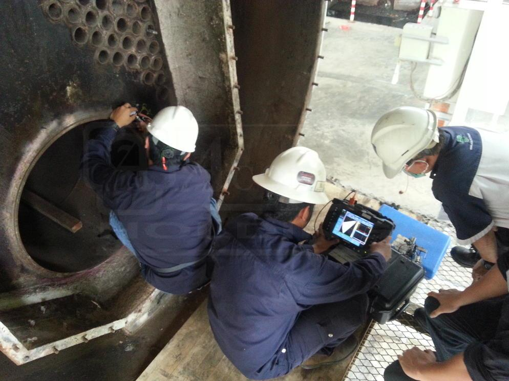 Competent on NDT and noise mapping survey